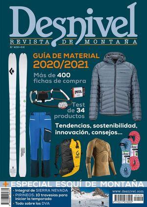 REVISTA DESNIVEL Nº409 ESPECIAL MATERIAL 2020-21
