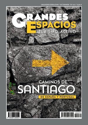 REVISTA GRANDES ESPACIOS Nº271 CAMINOS DE SANTIAGO DE ESPAÑA Y PORTUGAL