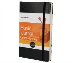 MUSIC JOURNAL PASSIONS DIARIO DE MUSICA