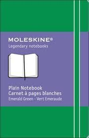 PLAIN CLASSIC EMERALD GREEN NOTEBOOK XS CUADERNO LISO VERDE