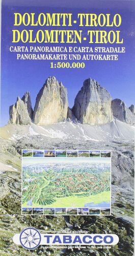 MAPA DOLOMITAS TIROL 1:500000