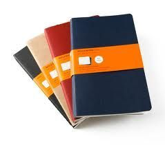 KRAFT RULED CAHIER JOURNALS L RAYADO BLANDA