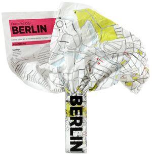 BERLIN -CRUMPLED CITY MAP