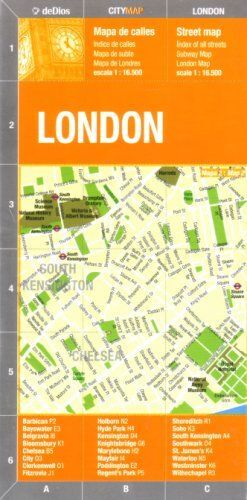 LONDON  MAPA DE CALLES